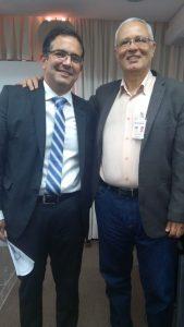 Na foto : Rodrigo Pimentel, diretor-geral do Detran, e Paulo César Machado, coordenador13ª Ciretran.